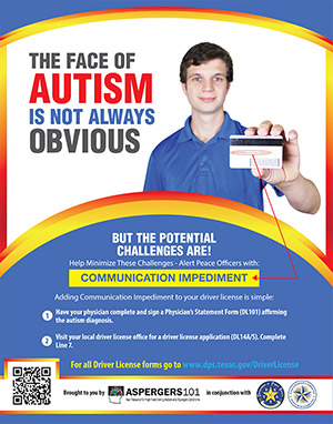 Aspergers101-Driving-with-Autism-DPS-Poster